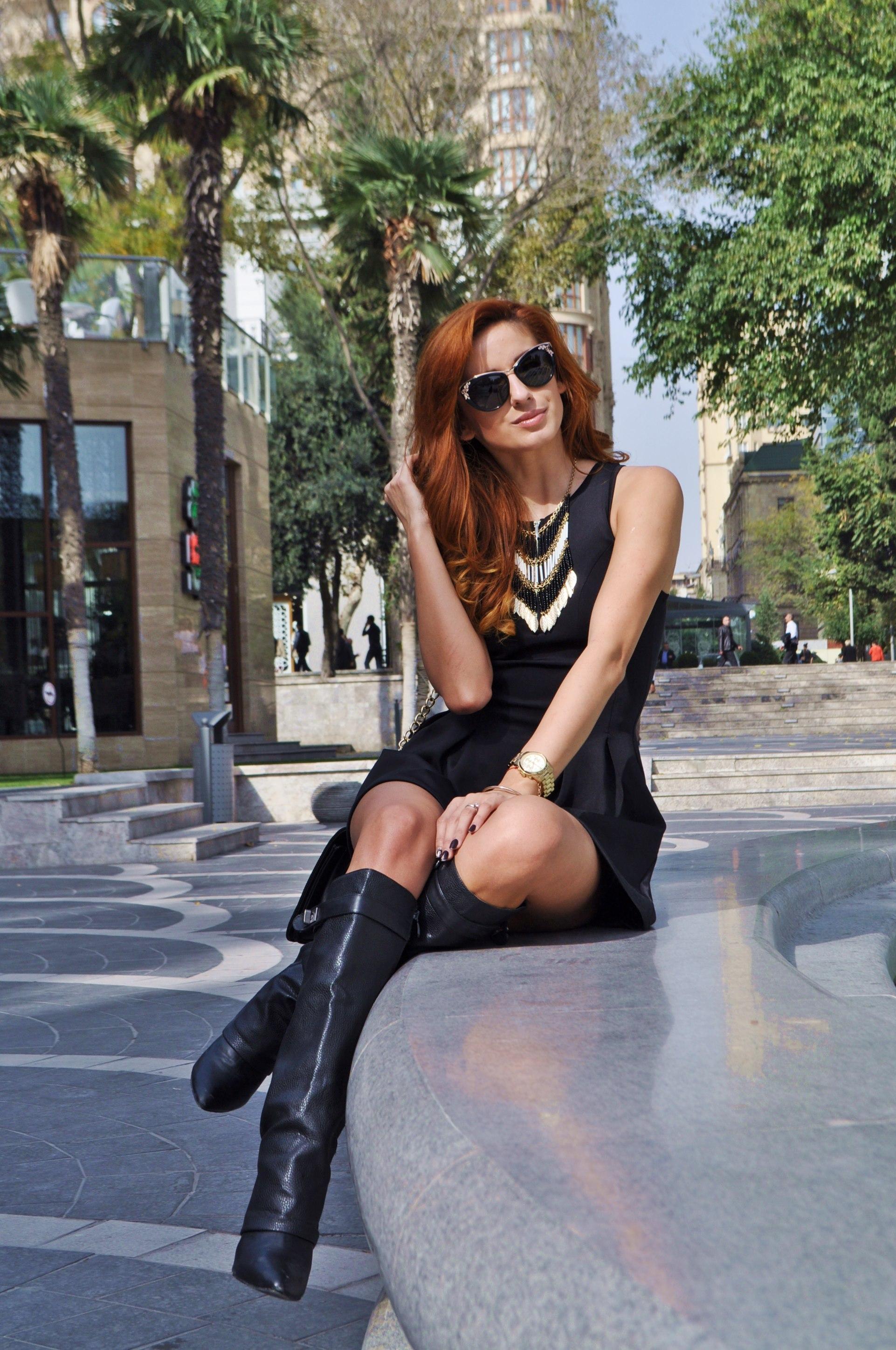 Ioana Grama Fashion Boots.  A122