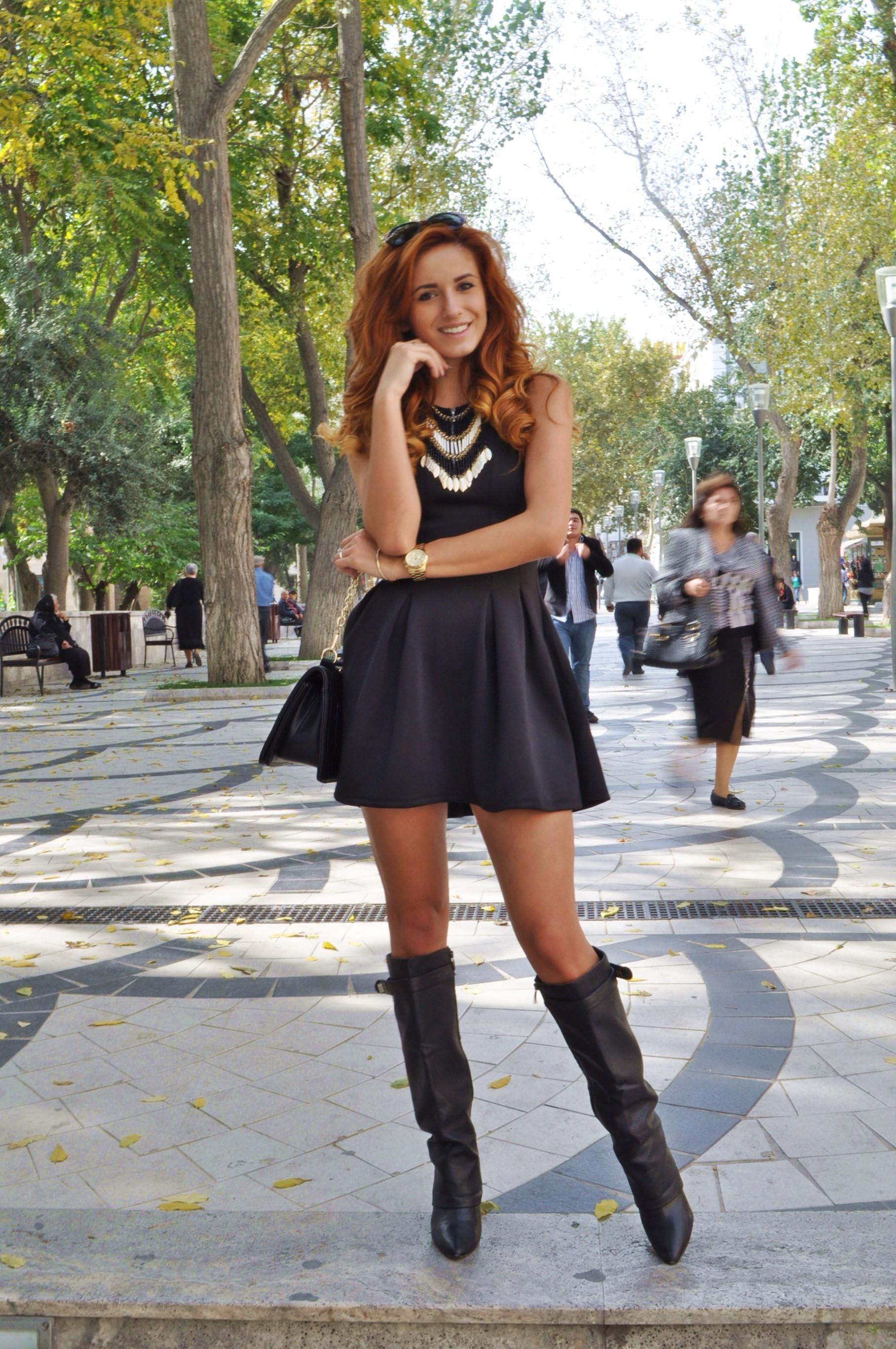 Ioana Grama Fashion Boots.  A41