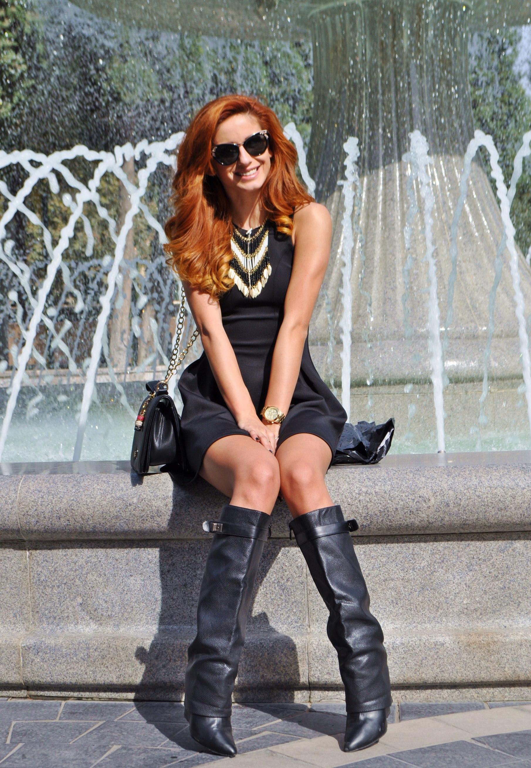 Ioana Grama Fashion Boots.  A72