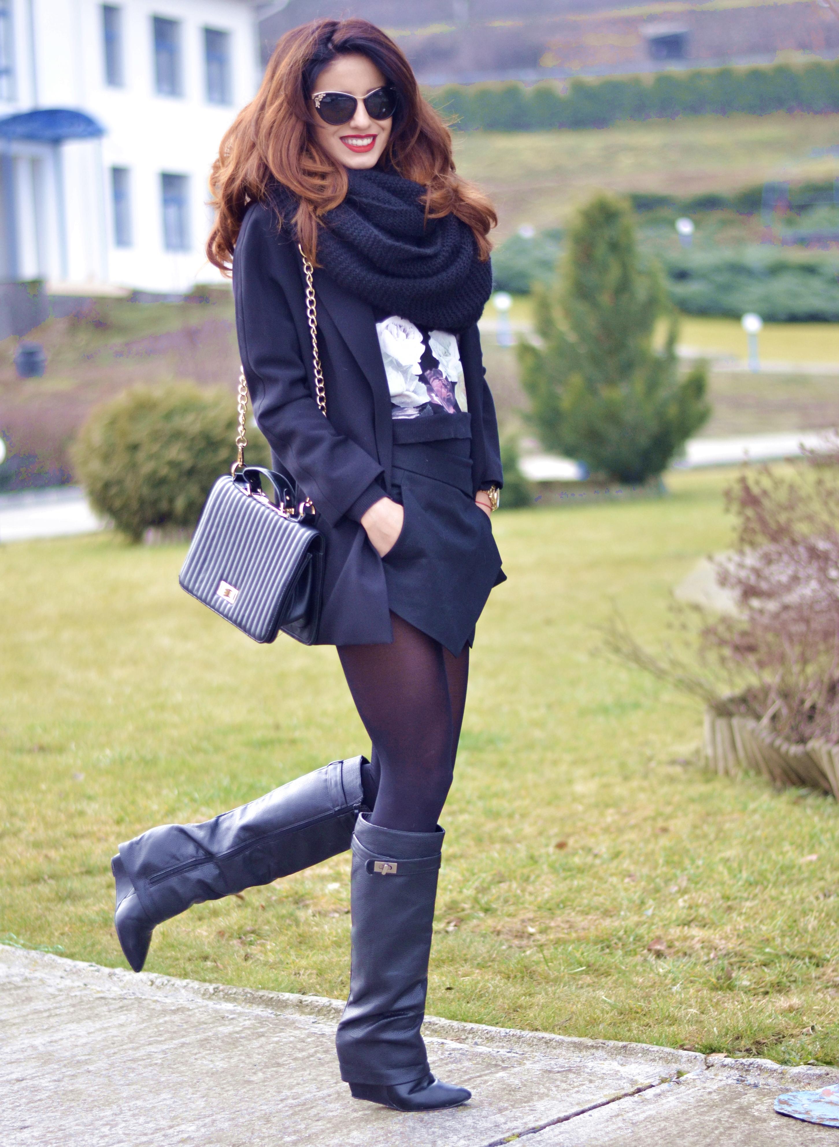 Ioana Grama Fashion Boots.  J6
