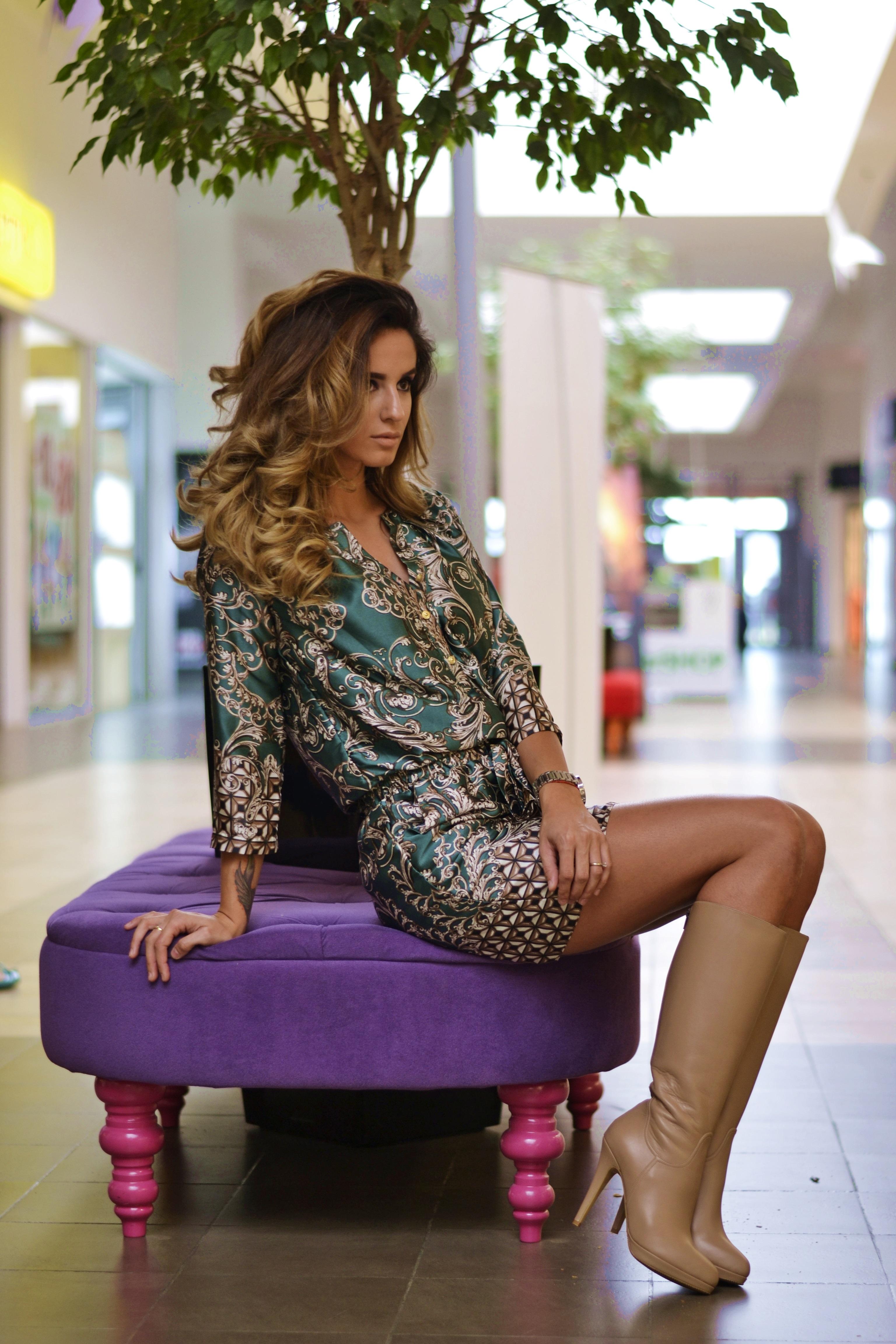 Ioana Grama Fashion Boots.  A292