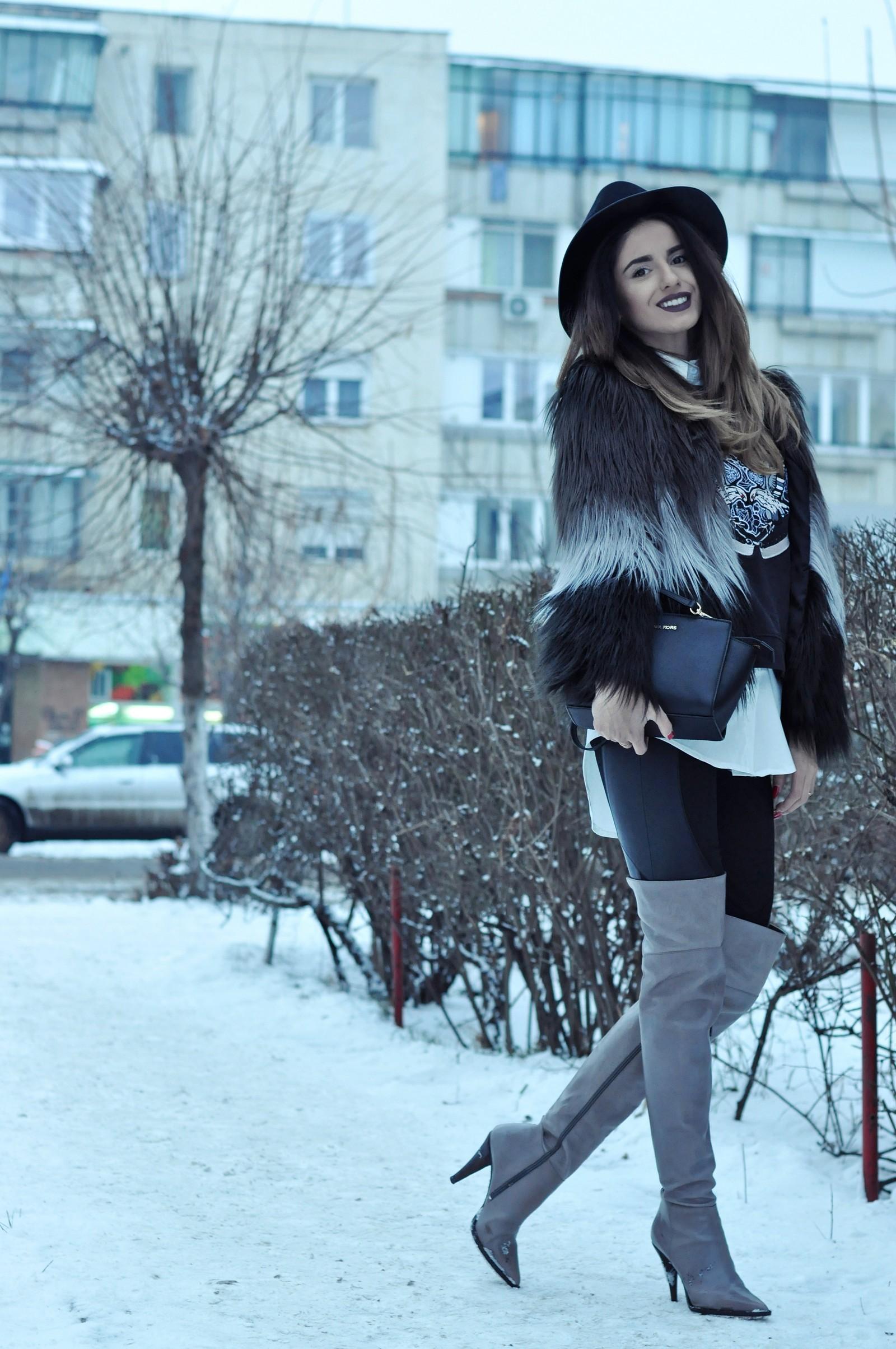 Ioana Grama Fashion Boots.  A42
