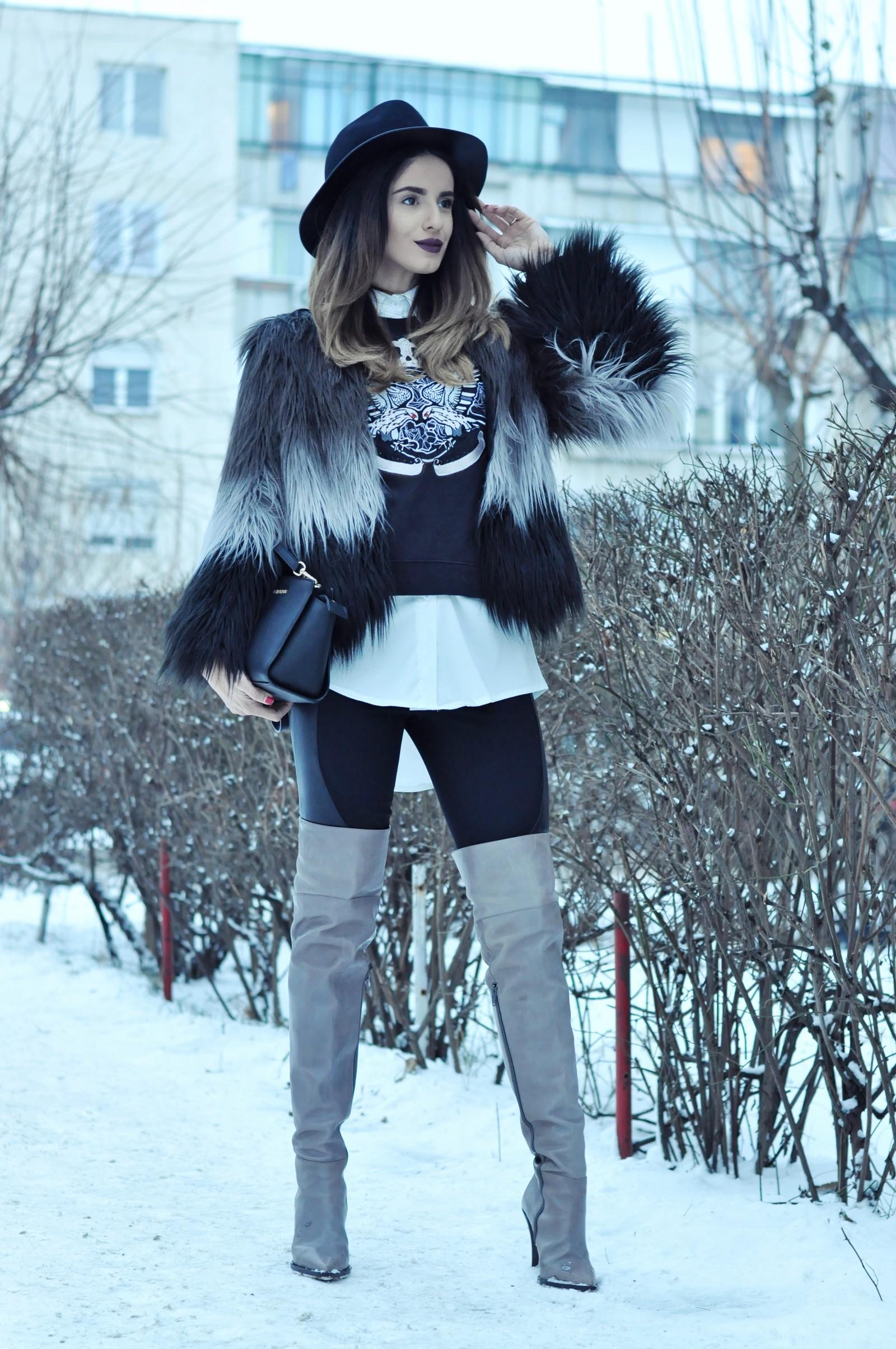 Ioana Grama Fashion Boots.  A53