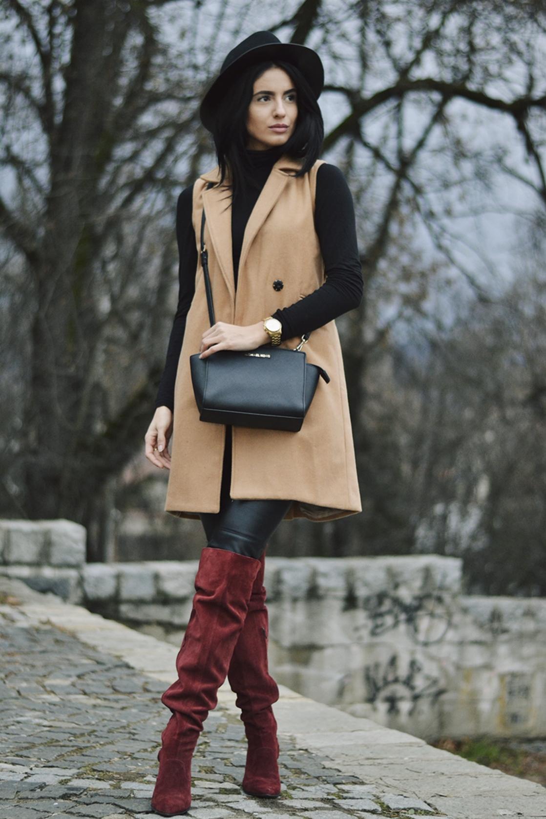 Ioana Grama Fashion Boots.  A12